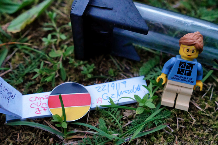 1st Geocache in Germany - Country No. 5 today