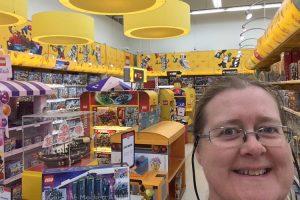 LEGO display in Bilka, Kolding