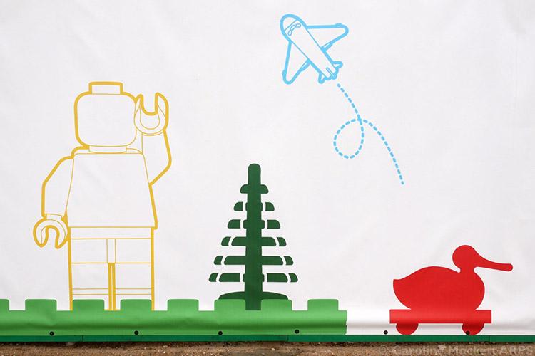 LEGO-Themed Hoardings