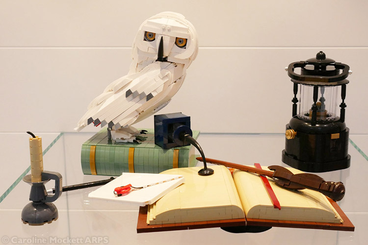 Owl & Magical Equipment by Sven Franic