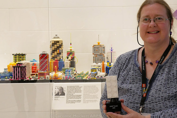 Me And My Models In LEGO House