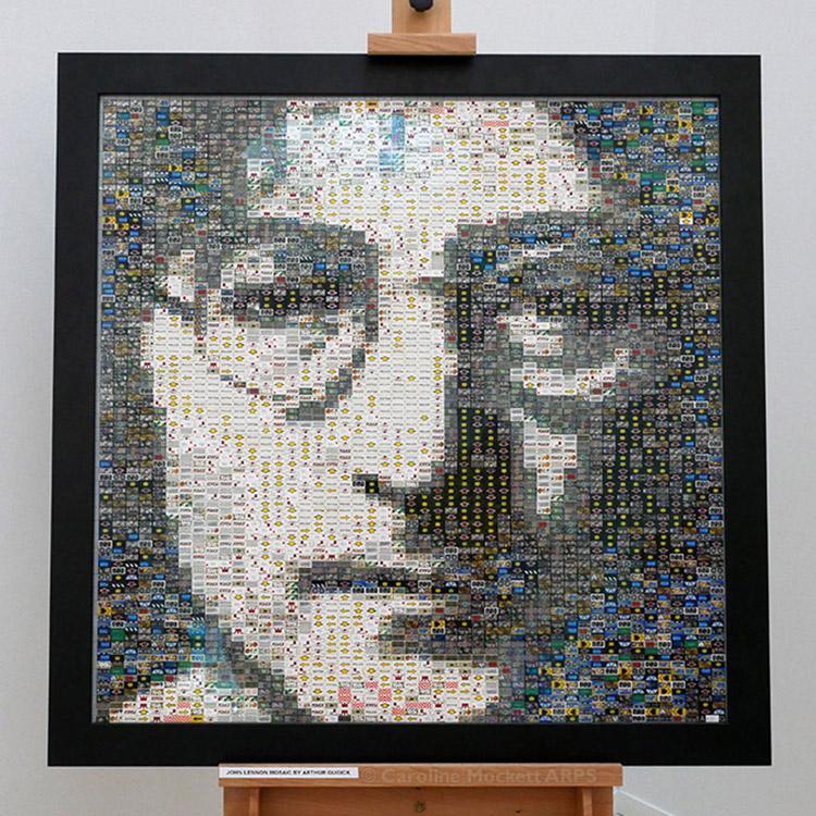 John Lennon Portrait by Arthur Gugick