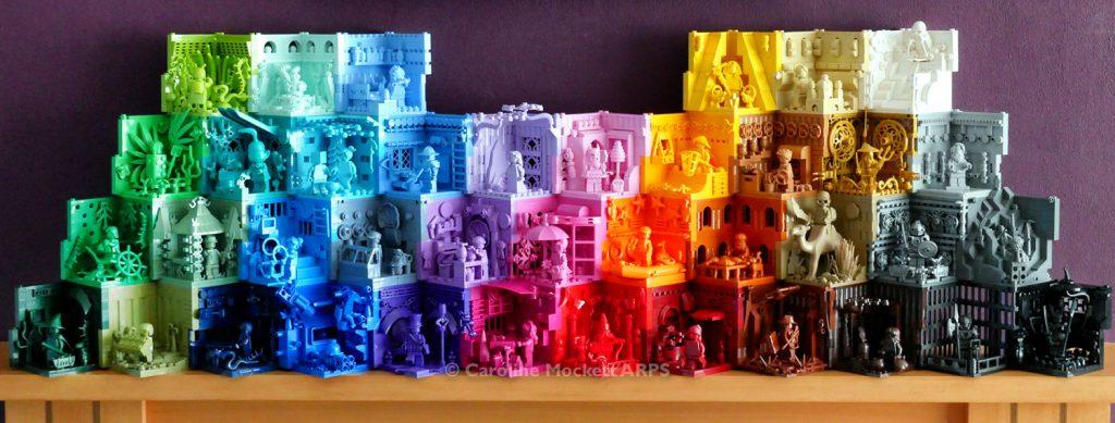 Rainbow Monofigure Habitats